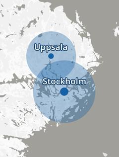 Vi finns i stockholm och uppsala, VVS Jour dygnet runt