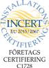 Incert: Verifiera certifierade personer och företag
